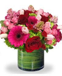 pink flower arrangement of roses