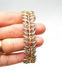 gold leaf bracelet images Free shipping gold leaf bracelet bridal bracelet wedding bangle jpg