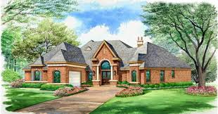 One Level Luxury House Plans This One Story Luxury House Plan Offers Everything On One Level