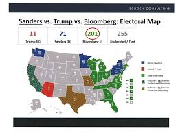 Nytimes Election Map by Bloomberg U0027s Maps Show Him Winning Presidency Business Insider