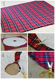 diy no sew tree skirt our fifth house