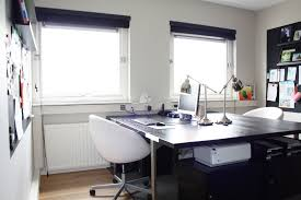 Home Office With Two Desks Home Office Desk For Two Home Design Ideas And Pictures