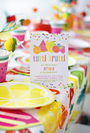 Halloween Cake Walk Printables Cute And Colorful Tutti Frutti Birthday Party Project Nursery