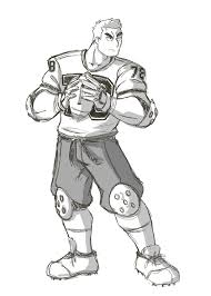 football player sketch by alextaniciel on deviantart