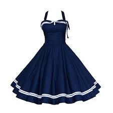 sisjuly vintage summer dress a line women vintage pin up dress
