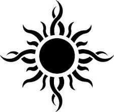 best 25 tribal sun tattoos ideas on pinterest tribal sun sun