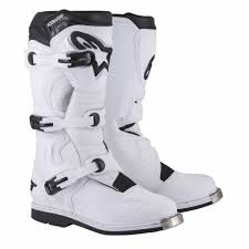 motocross boots alpinestars tech boot 1 motocross boots white onlymx for cross
