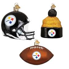 pittsburgh steelers ornaments 3 jcpenney