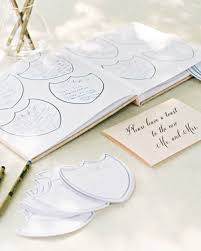 wedding guest books 68 guest books from real weddings martha stewart weddings