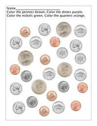 counting quarters counting coins worksheets and first grade