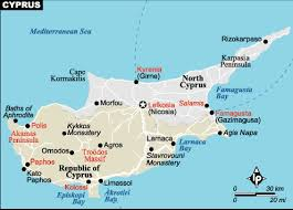 map of cyprus cyprus map europe country map of cyprus