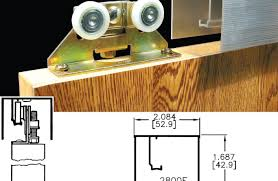 double track barn door hardware ideas u0026 featured and center of the door johnson folding doors
