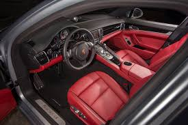 Porsche Cayenne Red Interior - unlike the interior of the gts 2013 porsche panamera gts rear