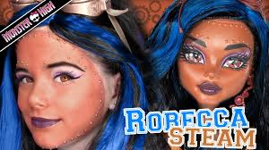 Halloween Costume Monster High by Robecca Steam Monster High Doll Costume Makeup Tutorial For