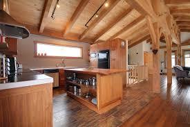 chalet cuisine interieur chalet bois montagne csm chalet lombard vasina deco