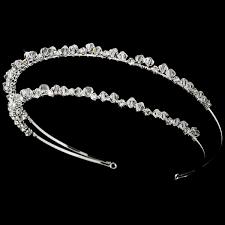 rhinestone headband swarovski rhinestone headband dh023 80 00 bridal