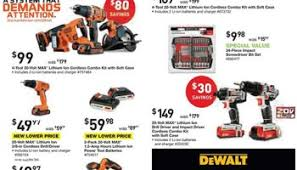 home depot black friday 2017 power tools home depot deal redux dewalt cordless u0026 mechanics tool set