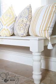 Bay Window Bench Ideas Diy Window Bench Shanty 2 Chic