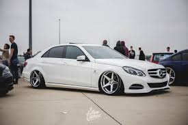 bagged mercedes e class e60 slam sanctuary