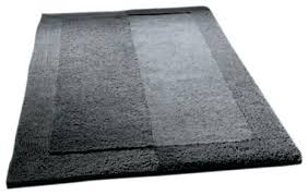 Cotton Reversible Bathroom Rug Cotton Bath Rugs Reversible Slate Gray Thick Plush Reversible