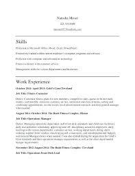 resume for exle excel proficiency test aakaksatop club