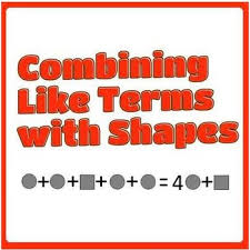 combining like terms with shapes by mathematic fanatic tpt