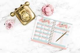 olday home decor floral holiday planner 16 printables 2 printable cards u0026 1