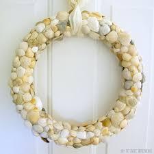 seashell wreath seashell wreath white front door boomer white front door