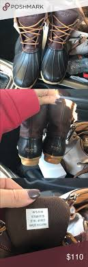 womens sperry duck boots size 9 s sperry duck boots sperry shoes boot and