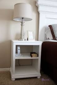Woodworking Plans Bedside Table by Diy Pottery Barn Inspired Sausalito Bedside Table Pottery Barn