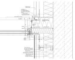 konsole architektur horizontal section through cw façade mimari