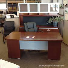 Cherry Lateral File Cabinet 2 Drawer by Wood Veneer Executive Desk U0026 Dual 2 Drawer Lateral File Credenza