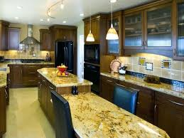 two level kitchen island kitchen countertops island yellow granite two level