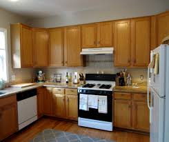 stained wood kitchen cabinets staining brown wooden kitchen cabinet on laminate flooring plus