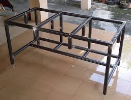 Plans For Building A Wooden Workbench by Free Diy Homemade Metal Workbench Plans