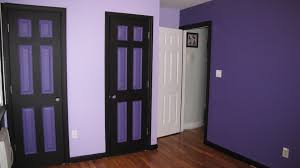 bedroom purple and gray wall paint color combination diy country
