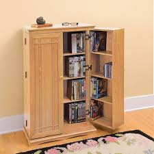 Multimedia Storage Cabinet With Doors Solid Oak Media Storage Cabinet At Signals Hw3032