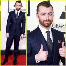 grammy winners list for 2015 includes sam smith pharrell sam smith gives two big thumbs up at the grammys 2016 2016