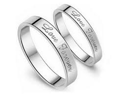 engagement rings for couples sterling silver rings simple purity rings for women and men