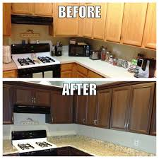 Painted Old Kitchen Cabinets by Paint Kitchen Cabinets Before And After