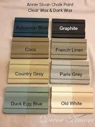 image result for rust oleum chalk paint colours chart next home