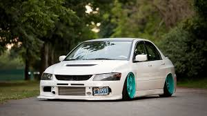evo mitsubishi 2007 cars slammed evo mitsubishi lancer evolution iv wallpapers