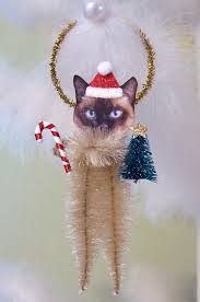 134 best cat ornaments 2 images on cats stuffed