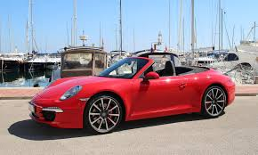 red porsche convertible porsche 911 carrera cabrio s sun cars rent a car