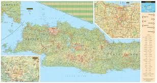 Map Of Jakarta Java U0026 Bali Travel Map Fourth Edition Periplus Travel Maps