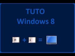 windows 8 raccourci bureau tuto windows 8 raccourci pour accéder au bureau directement