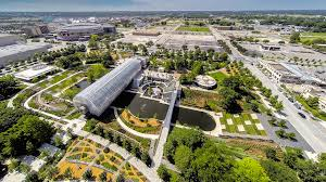 myriad botanical gardens named a winner u2026 ojb landscape architecture
