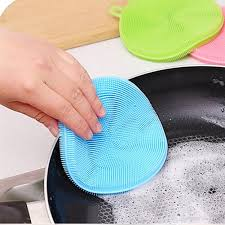 2017 multifunction silicone dish bowl cleaning brush silicone