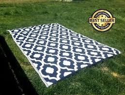 Camping Patio Mats by Indoor Outdoor Patio Rug Mat Rv Camping Reversible Carpet Beach