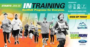 sun run vancouver sun run intraining program sportmedbc